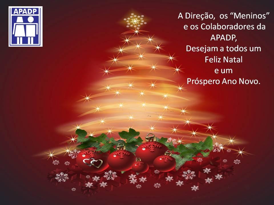 A APADP deseja um Feliz Natal